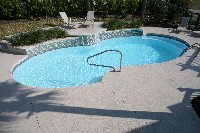 Atlantic Fiberglass Pool in Roans Prairie, TX